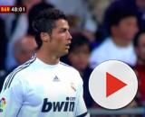 Ronaldo lors de son premier match pour le Real Madrid. Credit : SkySports Capture