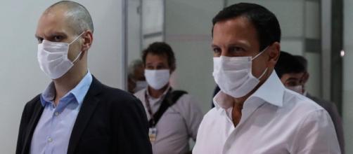 Governador descartou divergência com Bruno Covas. (Arquivo Blasting News).