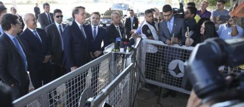 GSI emitiu nota informando medidas de segurança aos jornalistas que cobrem o Alvorada. (Arquivo Blasting News)