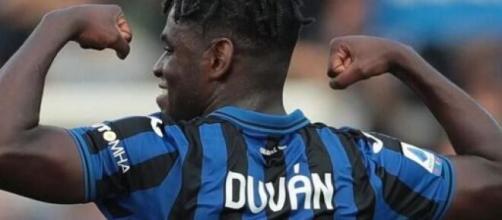Duvan Zapata sarebbe nel mirino della Juventus.