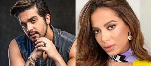 Segundo Leo Dias, Luan Satana e Anitta teriam se relacionado motivados por interesses profissionais. (Foto: Montagem/Instagram).