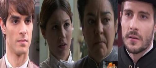 Una Vita, anticipazioni al 5/6: la figlia di Josè Miguel schiaffeggia il suo corteggiatore.