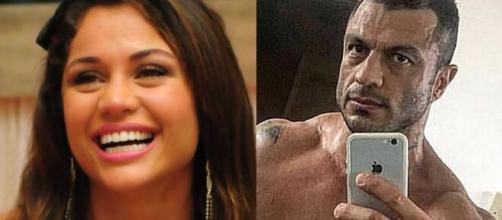 Maria Melilo e Bambam confessaram que já tiveram affair. (Foto: Montagem/Globo/Instagram).