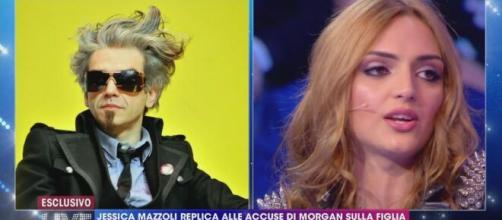 Morgan, l'ex Jessica Mazzoli: 'Mi mandava messaggi e chiedeva di vedermi'.