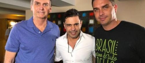 O cantor Zezé di Camargo saiu em defesa de Jair Bolsonaro nas suas redes sociais. (Reprodução/Twitter)