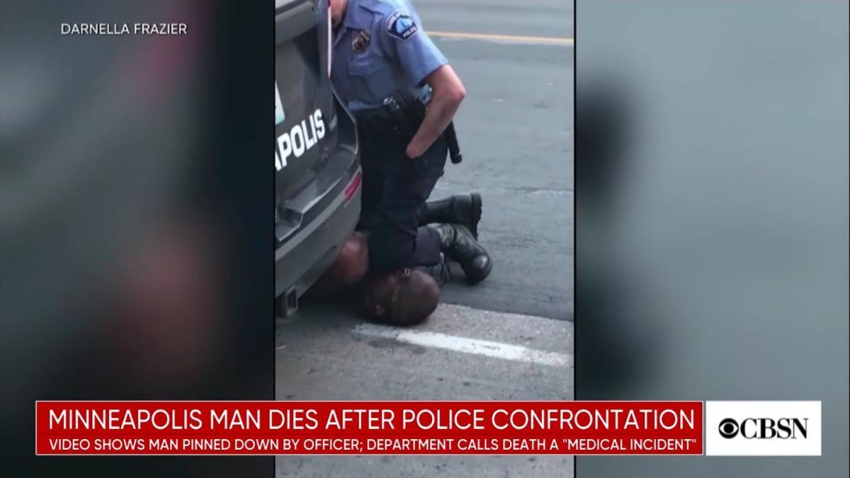 USA : Une vidéo 'insoutenable' d'un afro-américain mort immobilisé ...