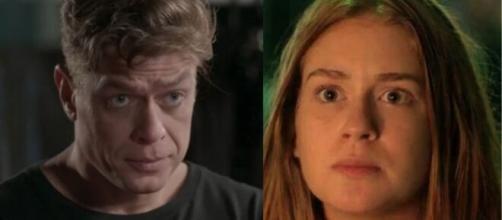 Arthur não está mais interessado em manter Eliza no concurso 'Totalmente Demais'. (Fotomontagem/Rede Globo