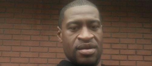 George Floyd, afro-américain tué lors d'une bavure policière à Minneapolis aux USA (c) Laeticia Hallyday