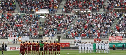 Real Murcia rindió tributo a la memoria de 'Macho' Figueroa en redes sociales. - thesun.co.uk