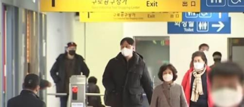 Churches and schools in South Korea fill, prompting coronavirus concern. [Image source/TODAY YouTube video]