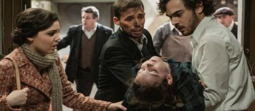 Il Segreto, trame Spagna: Camelia rischia la vita, Matias si scaglia contro Mauricio.