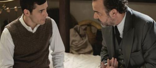 Il Segreto, trame Spagna: Pablo costretto a separarsi per sempre da Carolina.