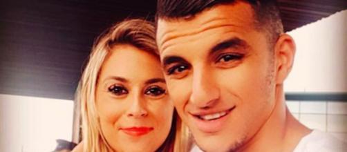 Marion Bartoli enceinte du footballeur Yahya Boumediene. Credit : Instagram/bartolimarion