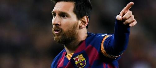 La estrella futbolística, Leo Messi. - goal.com