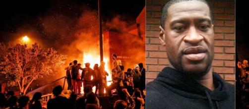 Morte de George Floyd gera uma onda de protestos nos EUA. (Arquivo Blasting News)