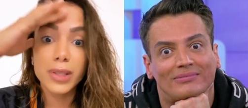 Treta entre Anitta e Léo Dias. (Arquivo Blasting News)