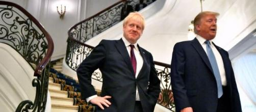 Boris Johnson e Donald Trump contro Pechino