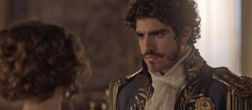 Dom Pedro foi interpretado pelo ator Caio Castro. (Reprodução/Instagram/@redeglobo)