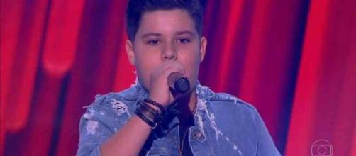 Ex-'The Voice Kids', Tuca Almeida, foi morto a tiros em Pernambuco. (Reprodução/TV Globo)