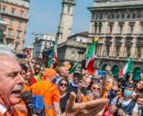 Gilet arancioni in piazza: Sala chiede al Prefetto di denunciare gli organizzatori.