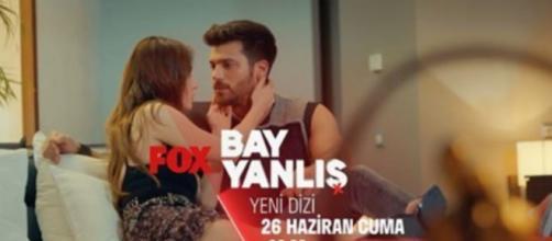 Can Yaman e Özge Gürel protagonisti della nuova serie Bay Yanlis.