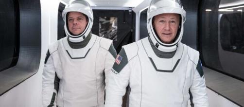 I primi astronauti di SpaceX sono partiti.