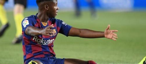 Juventus, chiesto Ansu Fati al Barcellona.
