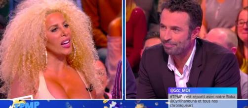 Afida Turner sur le plateau de TPMP (source : capture Youtube Canalplus)