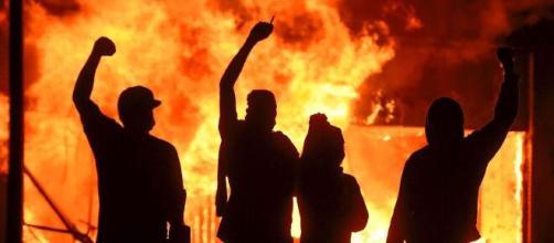 Protestos nos EUA. (Arquivo Blasting News)