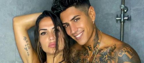 Ferre y Cristina posando para su Instagram.