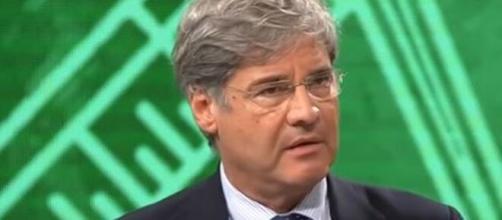 Paolo Del Debbio, conduttore di Dritto e Rovescio.
