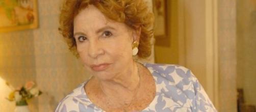 Atriz Daisy Lúcidi está em estado grave com Covid-19. (Reprodução/ Globo/ Passione)