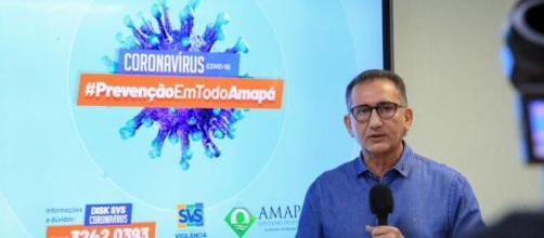 Aumento nos casos de Covid-19 no Amapá motivou a prorrogação da quarentena. (Secom/Marcelo Loureiro)