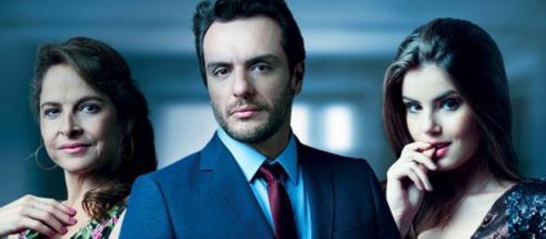 Carolina foi interpretada por Drica Moraes. (Reprodução/TV Globo)