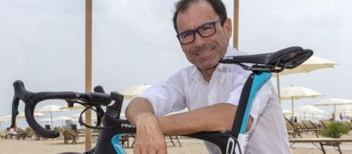 Davide Cassani, commissario tecnico della Nazionale di ciclismo.