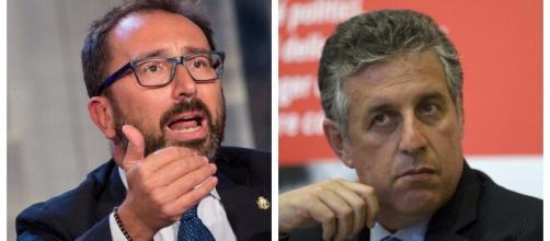 Di Matteo-Bonafede si scontrano sulla questione della nomina al Dap nel luglio 2018.