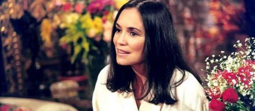 Helena era interpretada por Regina Duarte. (Reprodução/TV Globo)