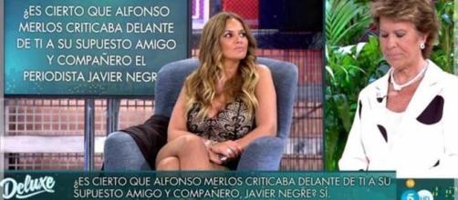 "Marta López ha desenmascarado a Alfonso Merlos en ""Sábado Deluxe"""
