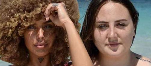 Rocio Flores y Yiya en Supervivientes 2020.