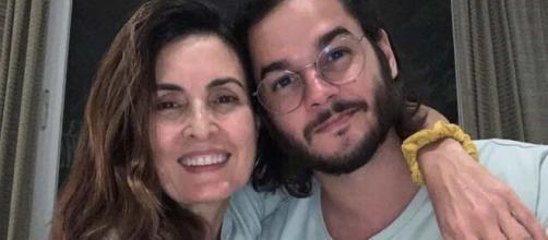 A apresentadora Fatima Bernardes comemorou data de namoro com Túlio Gadêlha. (Reprodução/Instagram)