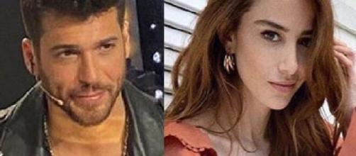 Can Yaman e Ozge Gurel protagonisti della nuova serie televisiva turca 'Mr False'.
