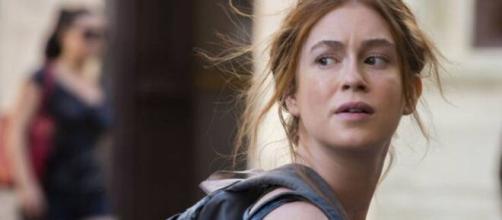Eliza se irrita com atitude de Arthur após ser pega falando com Jonatas. (Arquivo Blasting News)