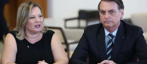 Joice Hasselmann faz críticas a Jair Bolsonaro. (Arquivo Blasting News)