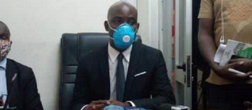 Koulou Engoulou Lilian Maurice, coordonnateur général ODS (c) Ericien Pascal Nguiamba