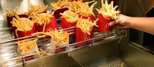 La composition des frites McDonald's serait dégoutante - crédit photo instagram