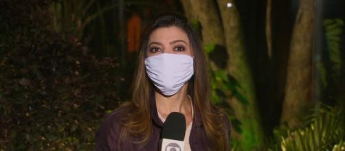 Repórteres da Globo passam a usar máscara diante da câmera nas ruas. ( Arquivo Blasting News )
