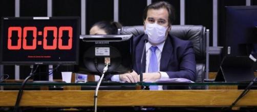 Rodrigo Maia, presidente da Câmara. (Najara Araújo/Câmara dos Deputados)