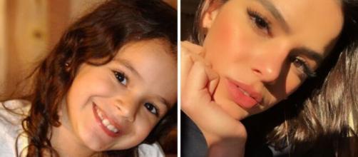 As atrizes cresceram e ficaram diferentes. (Reprodução/TV Globo/Instagram)