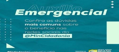 Auxílio Emergencial poderá ser consultado no Portal DataPrev. ( Foto: Reprodução do Instagram do Ministério da Cidadania )