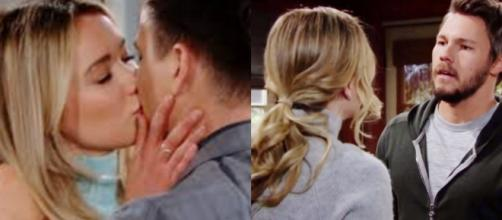 Beautiful, trame americane: Hope chiede il divorzio a Liam, Wyatt e Flo si baciano.